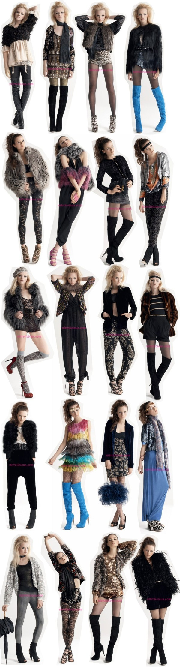 """Topshop Fall 2009 """"Marianne"""" Collection"""