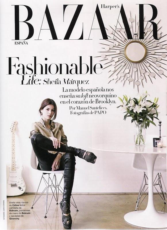 Sheila Marquez for Harper's Bazaar Espana